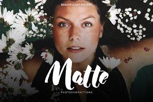BeautifulART 33 MATTE PS Actions