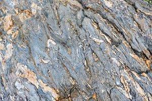 Part of rock close up.