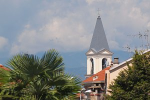 View of Settimo Torinese skyline