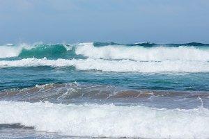 Sea surf wave.