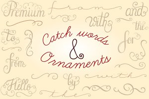 Catch Words & Ornaments Collection