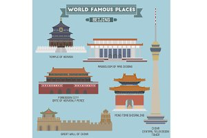 Famous Places in Beijing, China