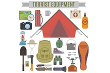 Tourist equipment