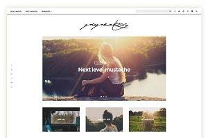 Paperbag - Blog theme