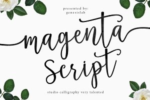 Magenta Script