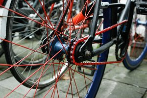 Red Bike Chain