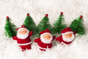 greet and gift with santa claus