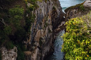 Villahormes Cliffs, Spain.