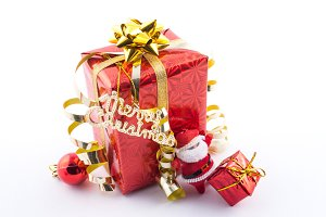 greet with gift