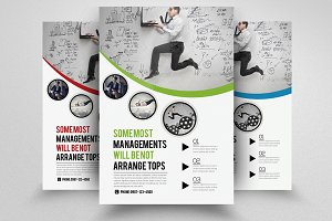 Marketing Strategy Business Flyer