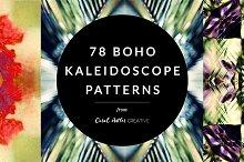 Boho Kaleidoscope Patterns