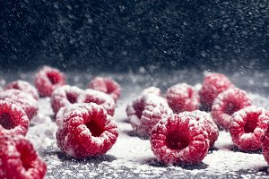 Raspberry winter