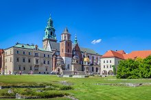 Wawel - famous monument in Poland.