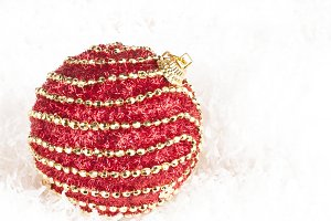 decorated bauble