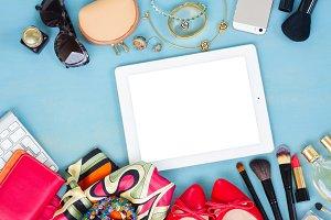 styled feminine desktop