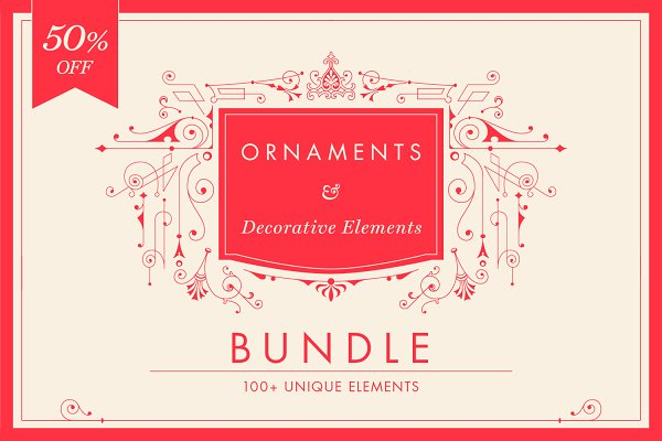 Decorative Ornaments Bundle