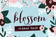Blossom - Painted Floral Graphics