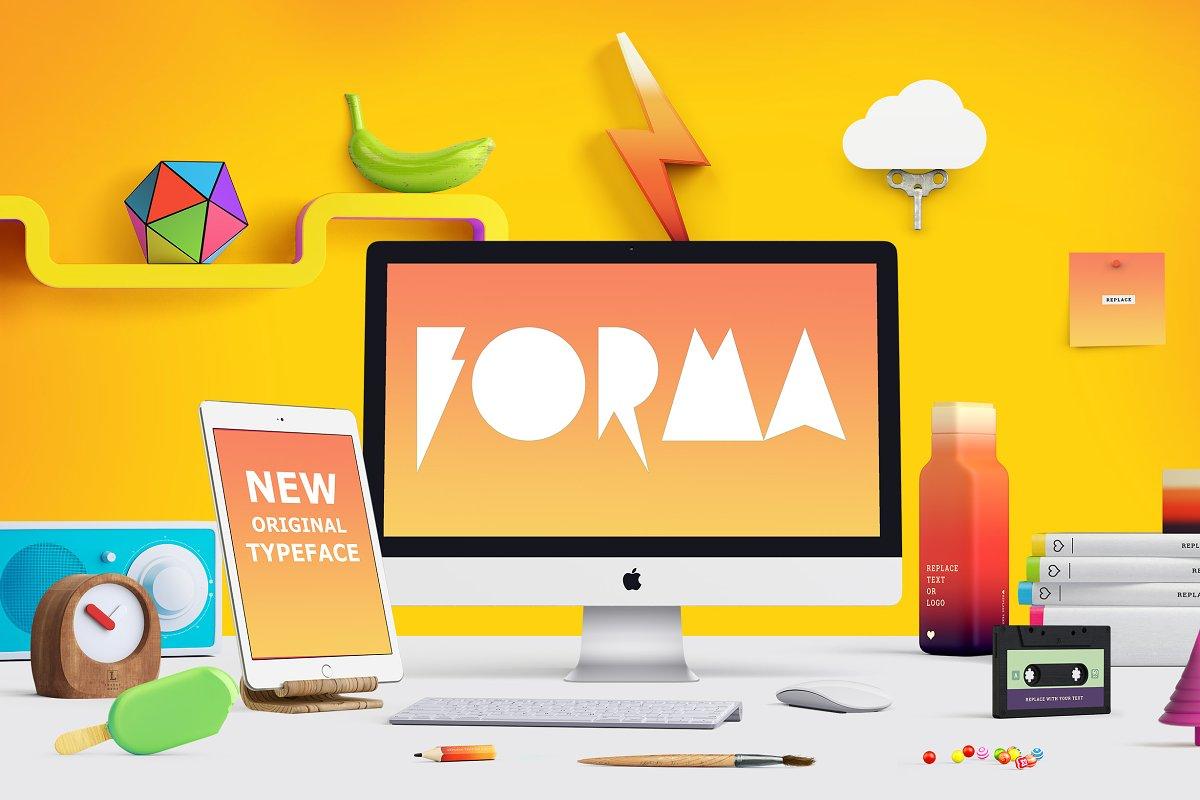 Forma Script Fonts Creative Market