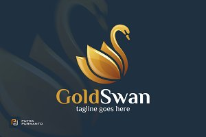 Gold Swan - Logo Template