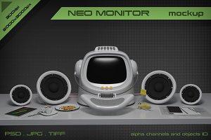 Neo Monitor mockup