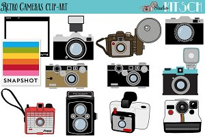 Retro Camera Elements