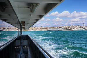 View from the ship to the Old city.
