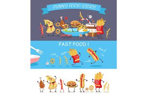 Funny Fast Food Cartoon