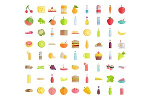 Big Collection of Food Concepts