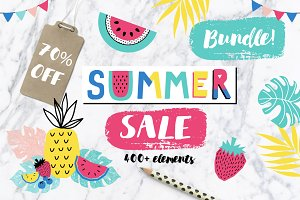 Summer Sale Bundle 70% OFF