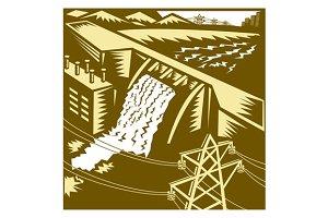 Hydroelectric Hydro Energy Dam