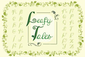 Leafy Tales Fonts