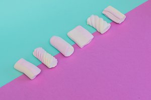 Line Set of Marshmallow