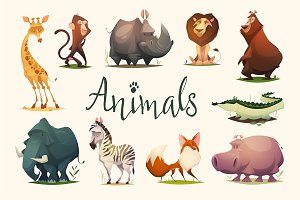 Animals illustrations