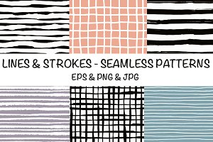 Lines & strokes - simple patterns