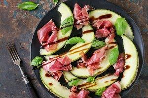 Melon and ham