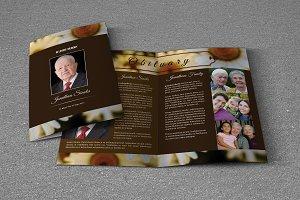 Funeral Program Template-V573