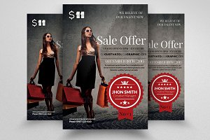Product Sale Offer Business Flyer