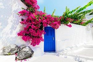Traditional greek house, Santorini