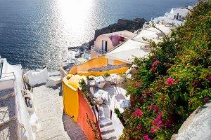 Beautiful  landscape, Santorini