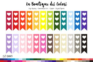 50 Rainbow Flag Checklist Clip Art