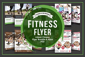 Health & Fitness Flyers Bundle