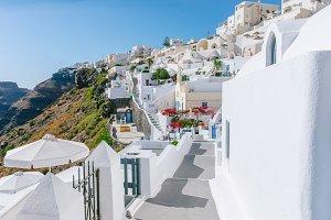 Architecture, Santorini, Greece