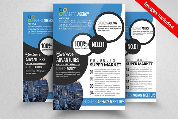 Law Firm Business Flyer Template Flyer Templates Creative Market - Law firm brochure template