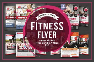Sport & Fitness Flyer Bundle