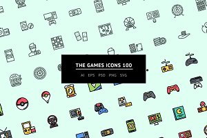 The Games Icons 100