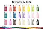 50 Rainbow Brushing Teeth Clip Art