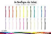 50 Rainbow Toothbrush Clip Art