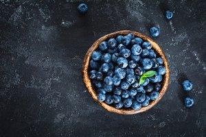 Blueberries, summer heaven