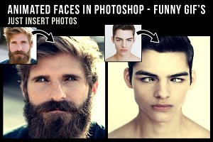 FunnyFaces - Photoshop Animated Gif