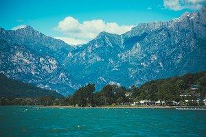 Lake Como Lake Alps